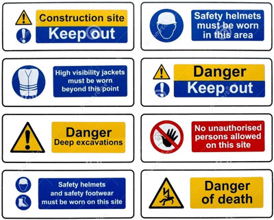 health and safety signs limerick